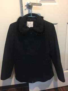 黑色專櫃氣質外套