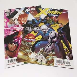 X-Men Blue #31 and #32