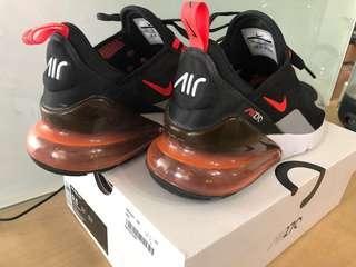 🚚 Nike Air Max 270 Black/Bright Crimson