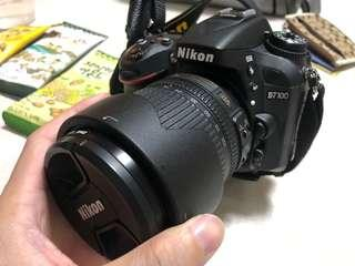 Nikon D7100 + 18-105mm kit