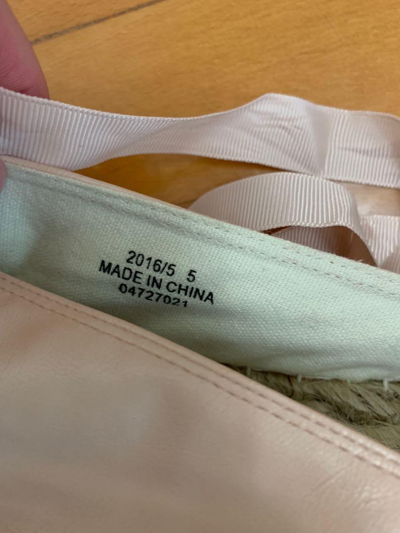 夏威夷草繩編織綁帶鞋