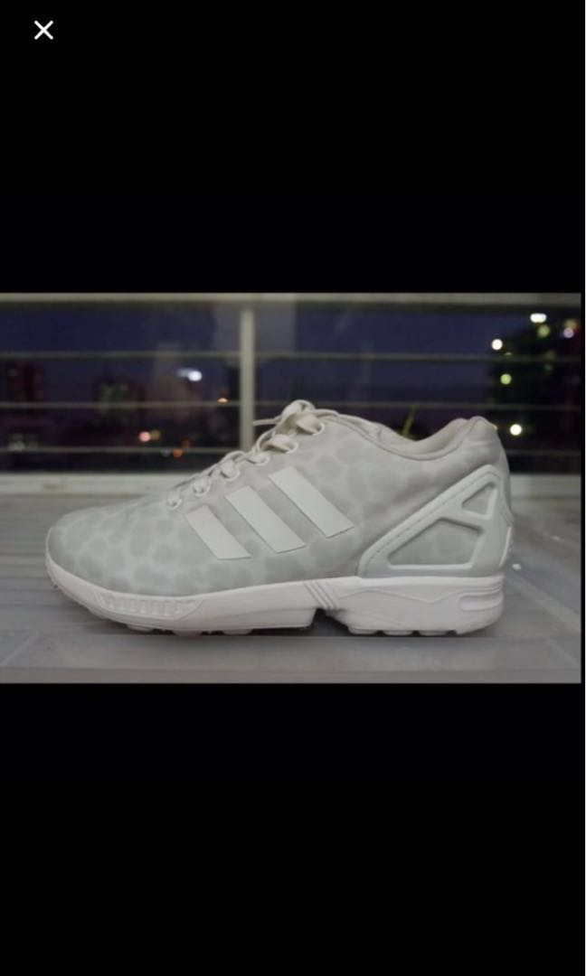 a504dc5d896c Adidas ZX Flux White Cheetah, Men's Fashion, Footwear on Carousell