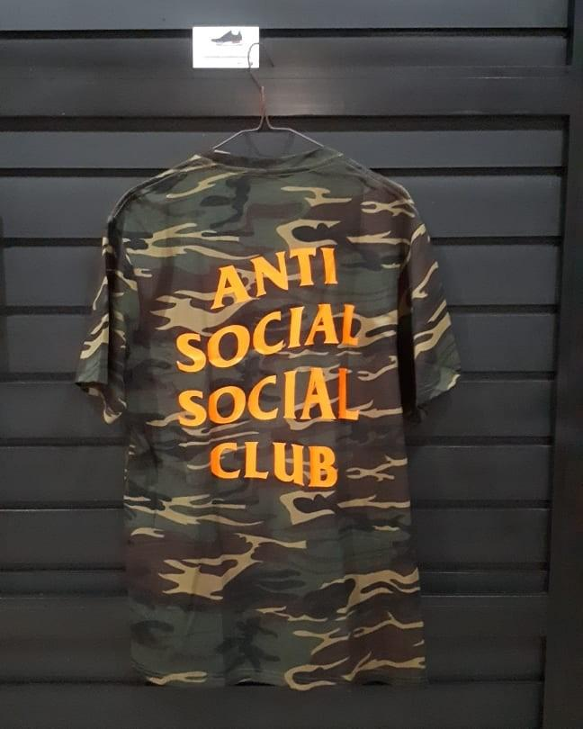 Anti social social club green ghost camo