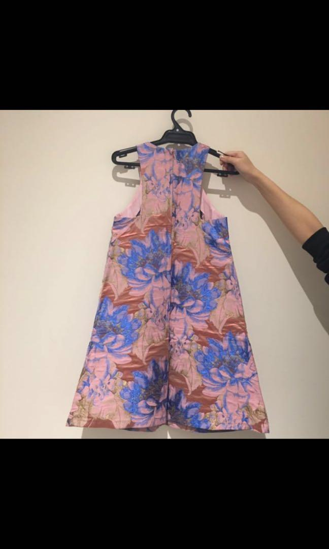 Asos粉紅色連身裙