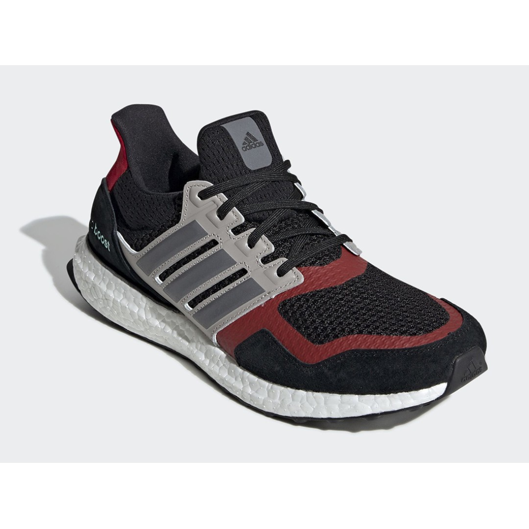 37d37cf6c Authentic Adidas Ultraboost 1.0 S L Grey   Red
