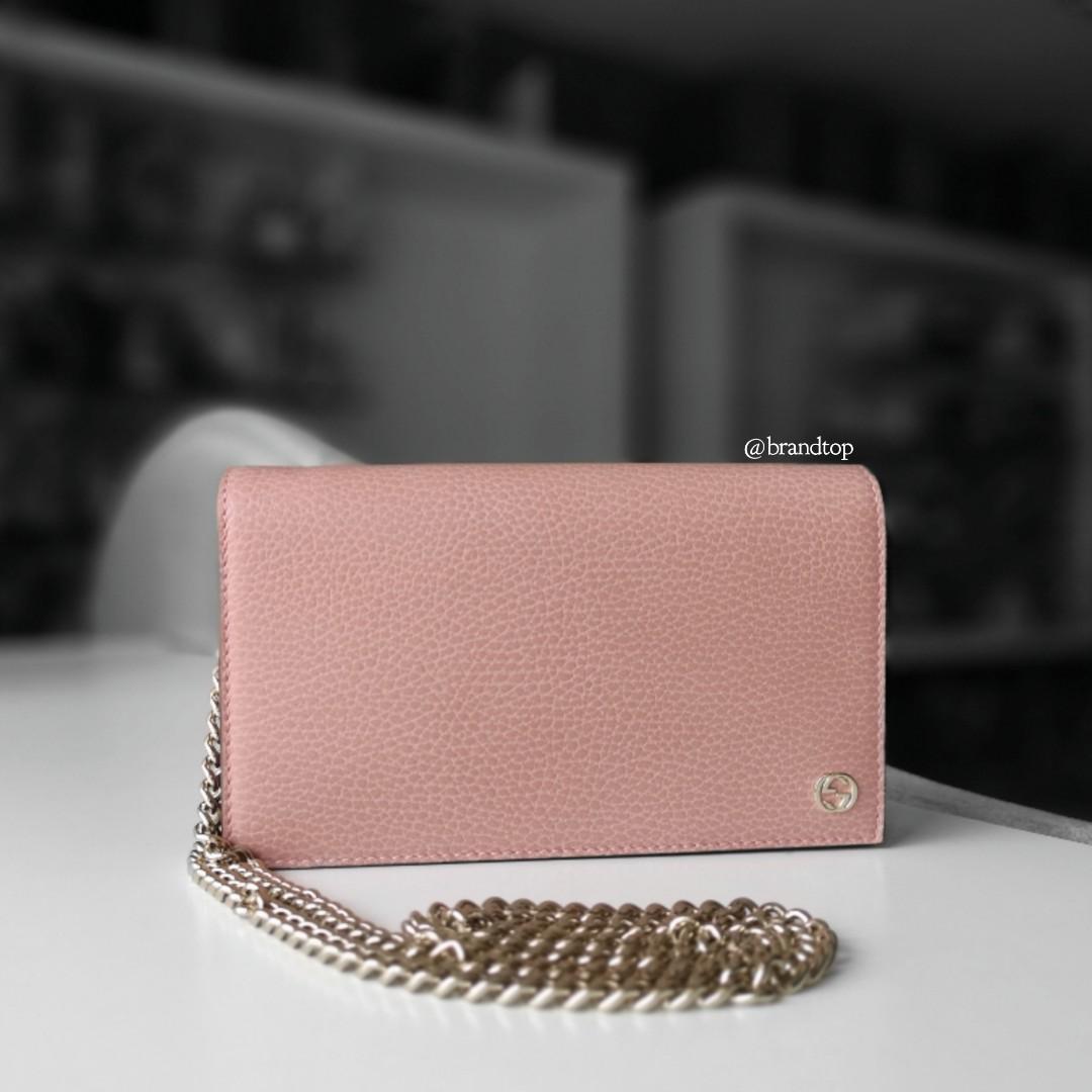 d7d985f74 Authentic Brand New Gucci Interlocking GG Crossbody Wallet Bag, Barangan  Mewah, Beg dan Dompet di Carousell