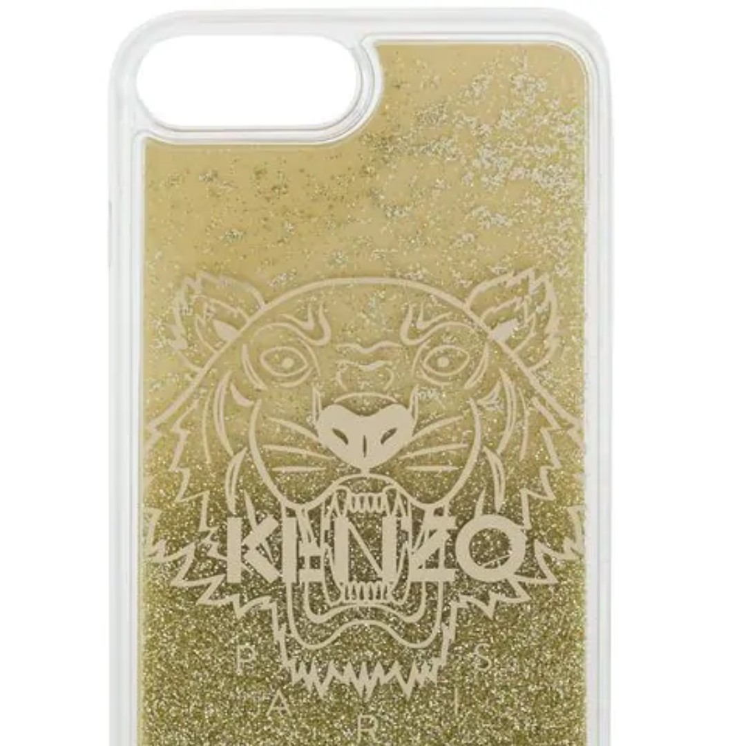 new arrivals 18127 63eaa [BNIB] Clear & Gold iPhone XS Max Case by Kenzo