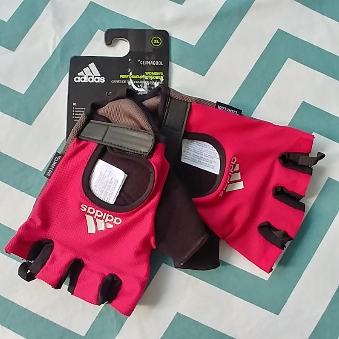 bf29f09b8df4b BNWT Adidas Climacool Women's Performance Gloves XL, Sports, Sports ...