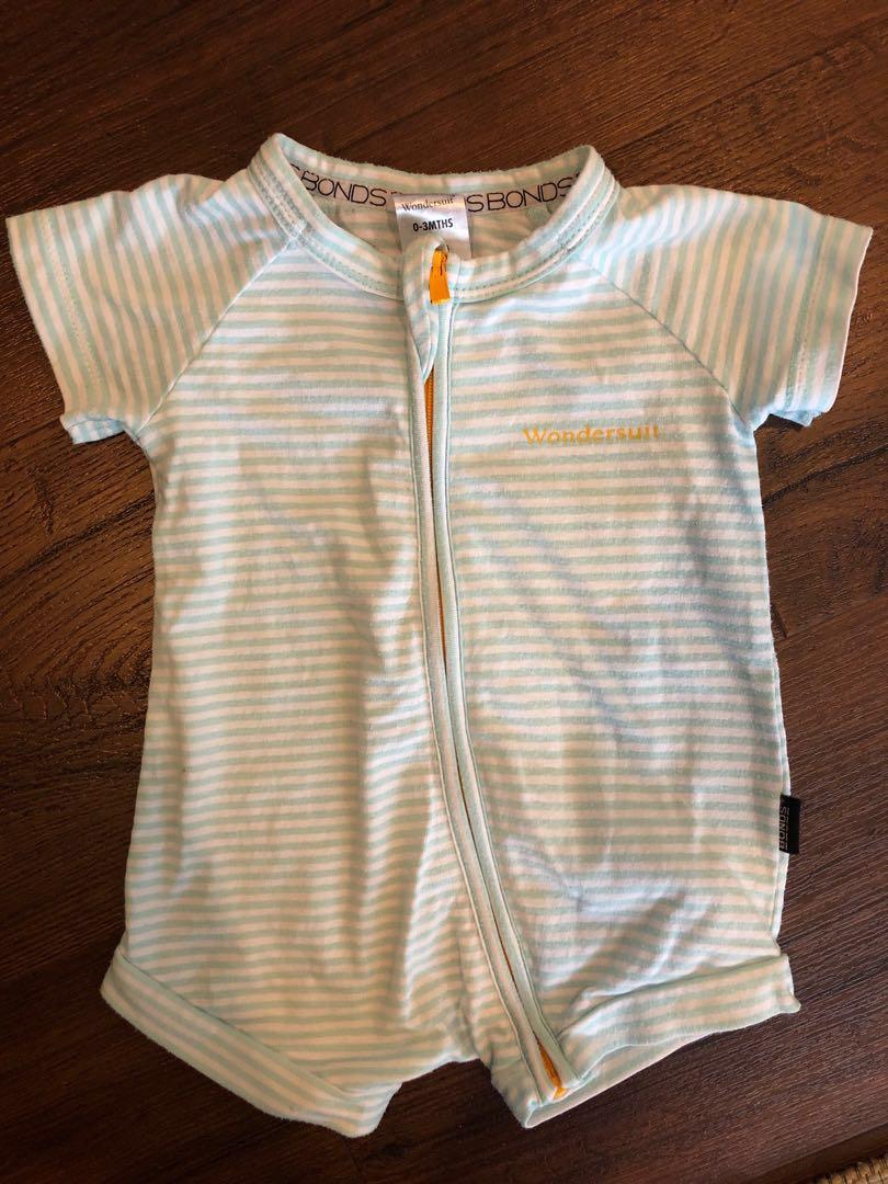 98ad02a68 Bonds 0-3 months onesie romper suit zip, Babies & Kids, Babies ...
