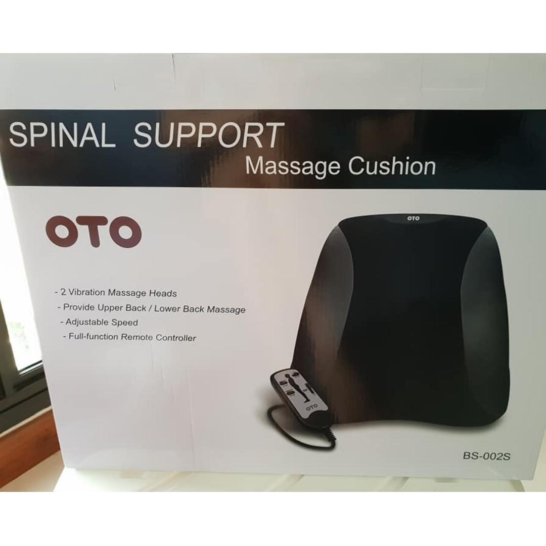 BRAND NEW! OTO SPINAL SUPPORT MASSAGE CUSHION