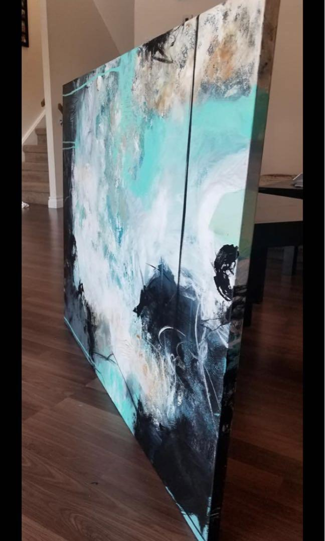 """Brand New piece: """"Free Spirit"""" (Signed and varnished)"""