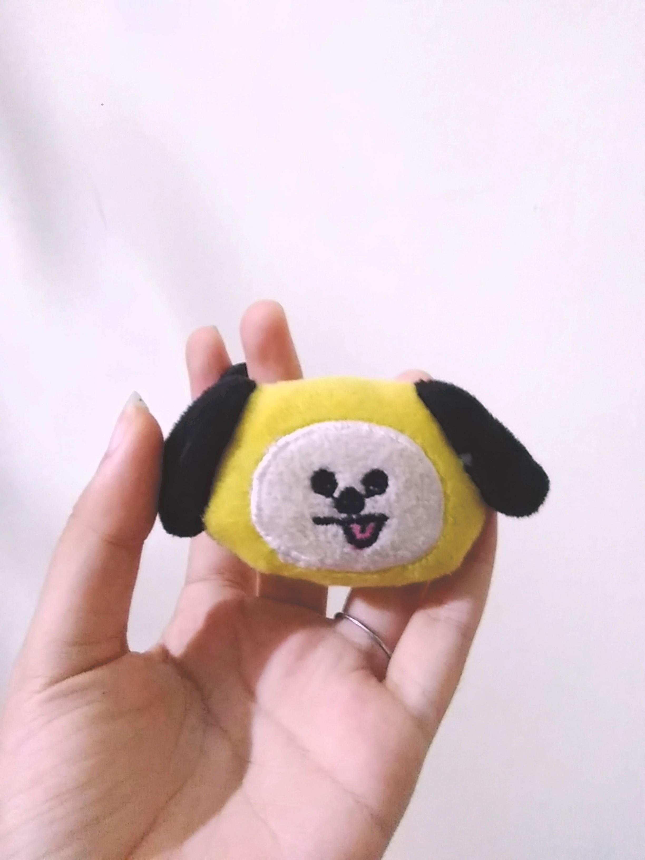BTS BT21 Chimmy Hairtie Unofficial Ikat Rambut Jimin Army
