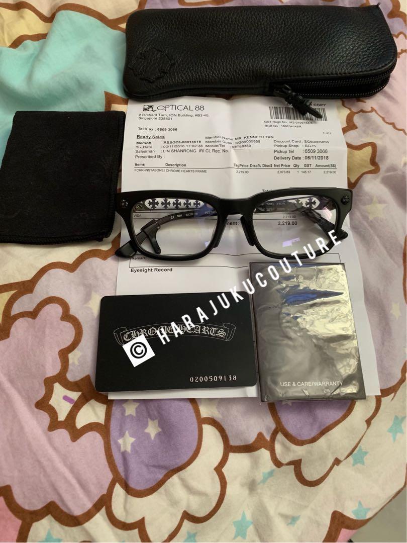 074b5ff997a6 Chrome Hearts Instabone II glasses