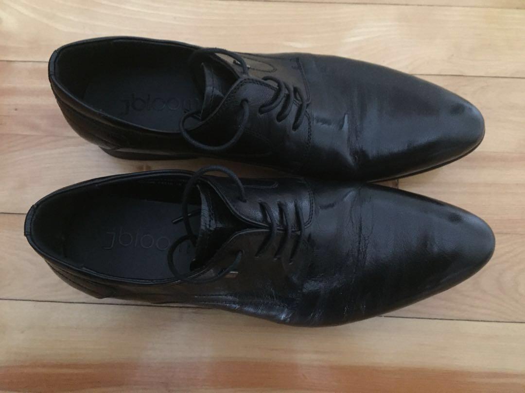 Classy Italian Leather Shoes (Black)