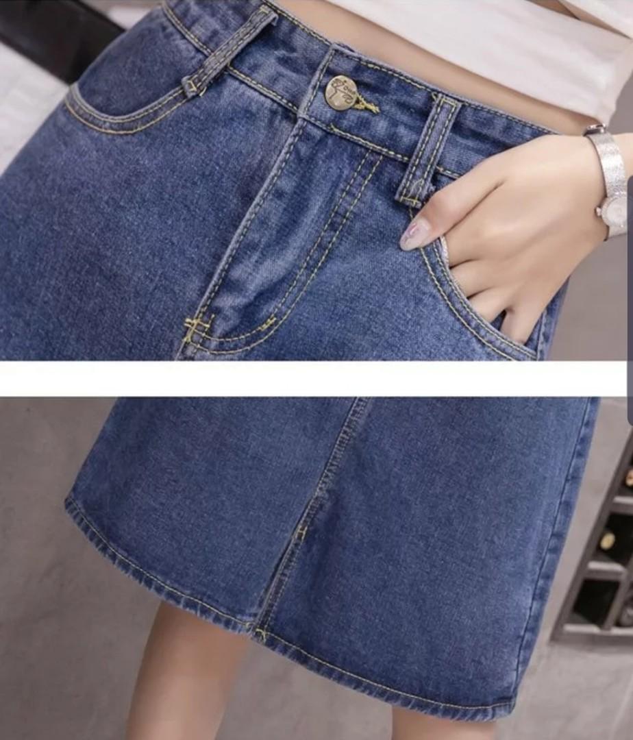 7e005f7ee Short Denim Skirts Plus Size | Saddha