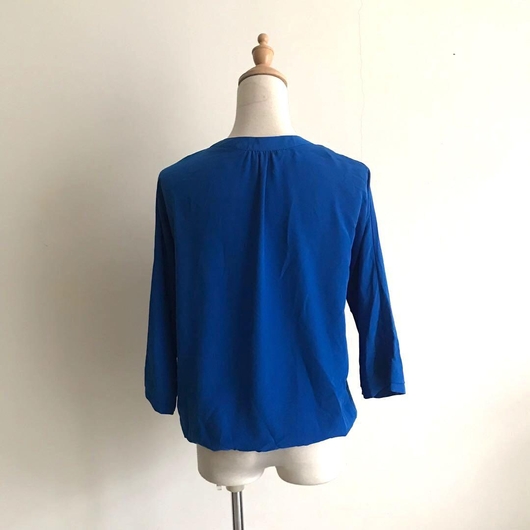 Dorothy Perkins Cobalt Blue Top