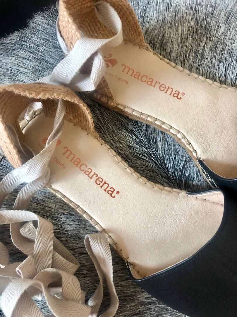 Espadrille sandals - size 41