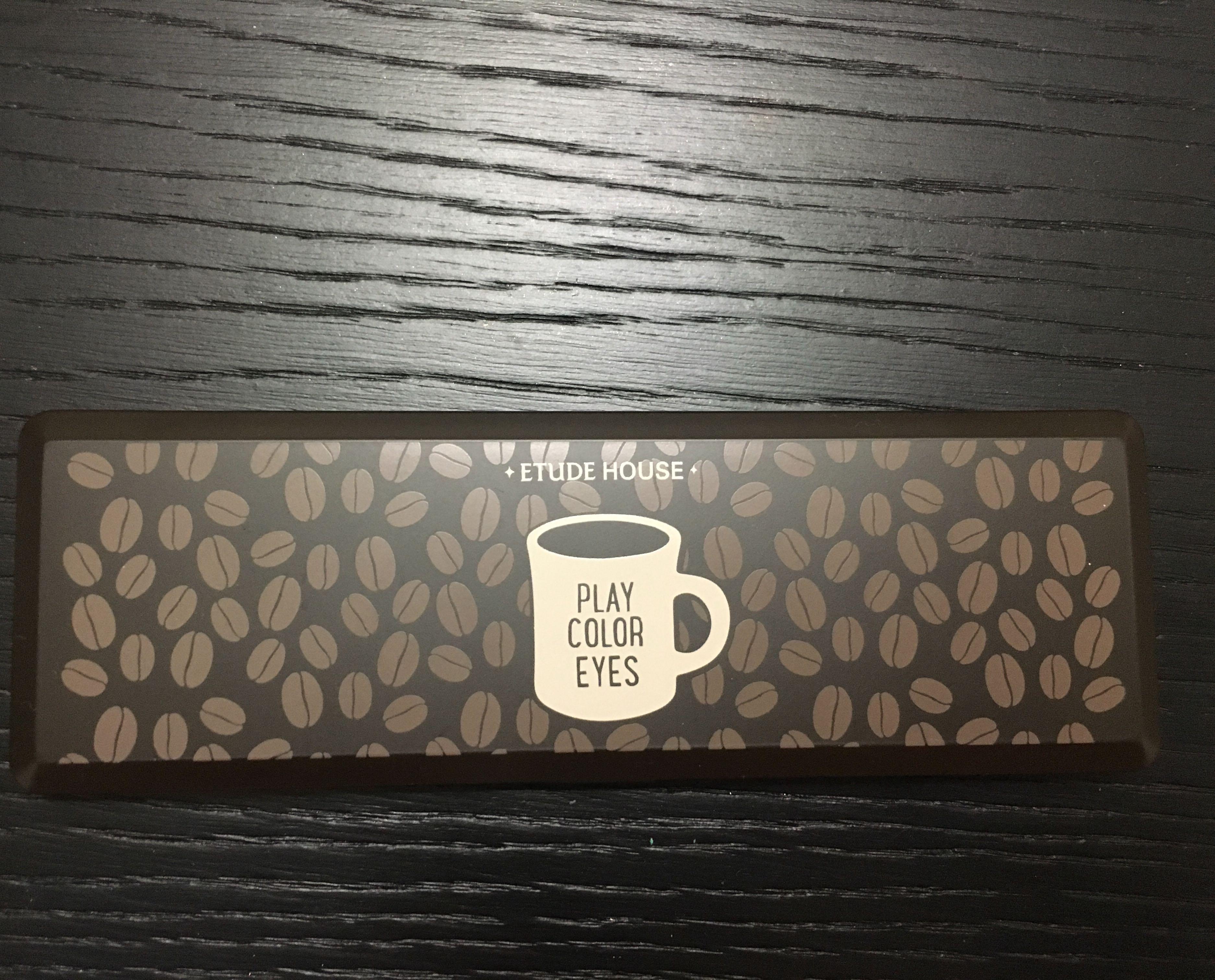 Etude house 咖啡眼影盤