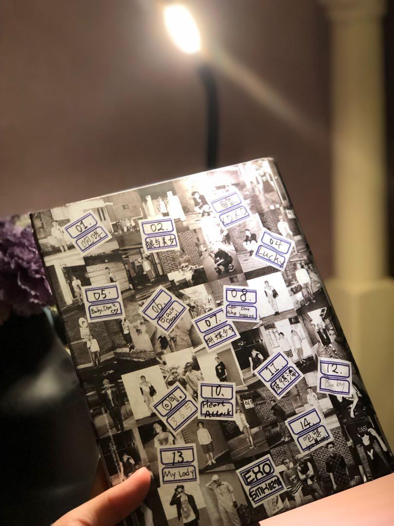 EXO - XOXO GROWL REPACKAGE ALBUM (CHINESE VERSION)