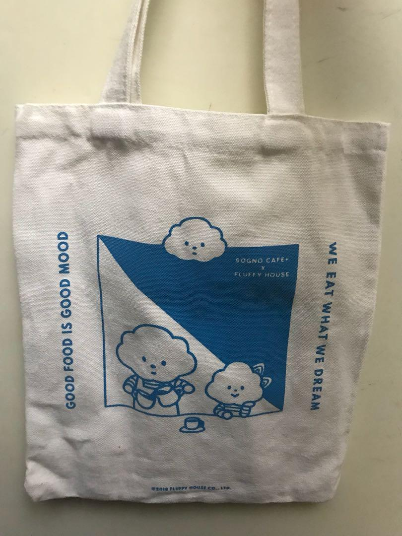 Fluffy House 雲先生 限量版 布袋 tote bag #sellmybags