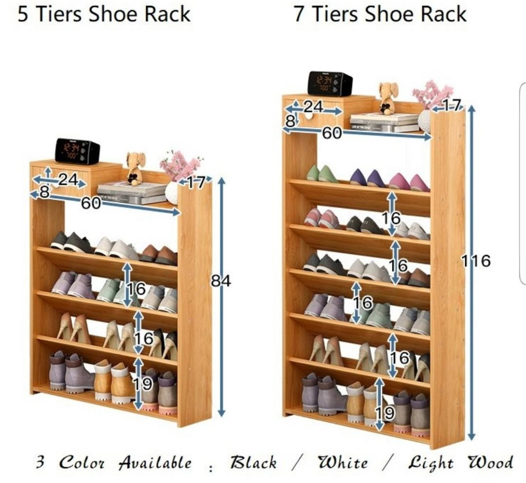 🤗FREE DELIVERY🤗5/6 tier Compact Tier Rack