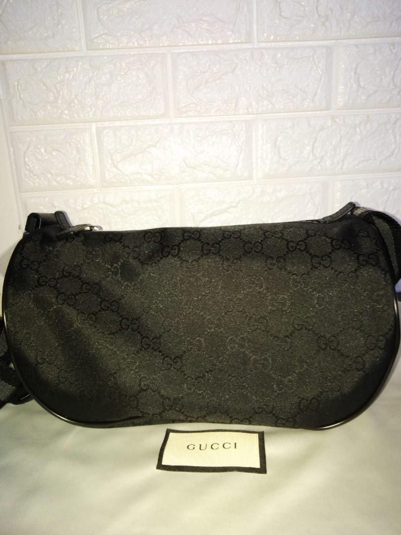 3eebba7f6325 Gucci Half Moon Sling Bag / waist bag/belt bag, Luxury, Bags ...