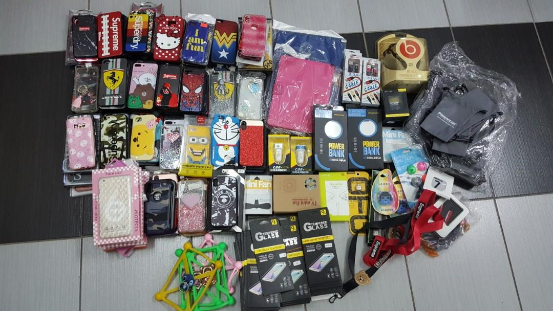 Iphone samsung powerbank cable gadgets
