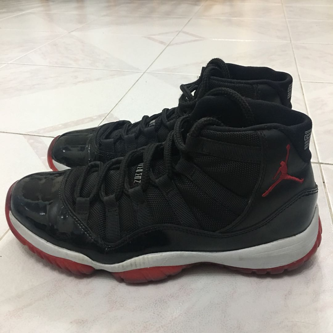 458308dc1 Jordan 11 26cm 100% real 冇盒籃球鞋