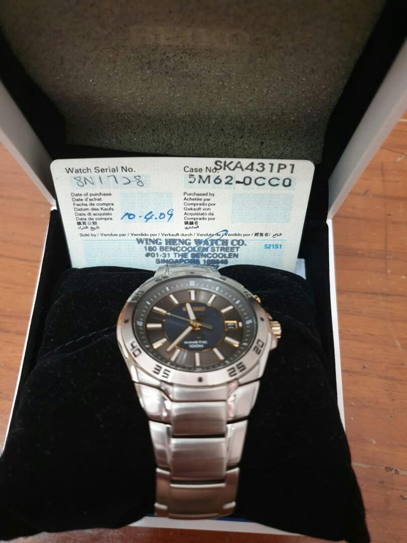 Jual Seiko Kinetic Men's Watches