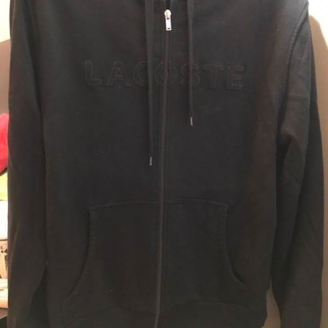 Lacoste men zipper sweater jacket