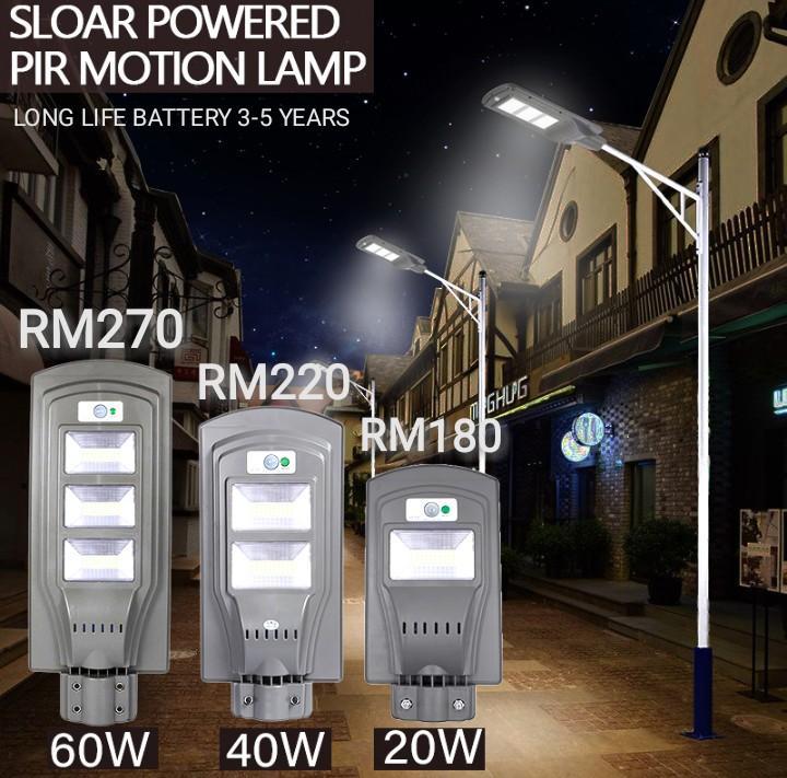 LAMPU SOLAR STREET LIGHT