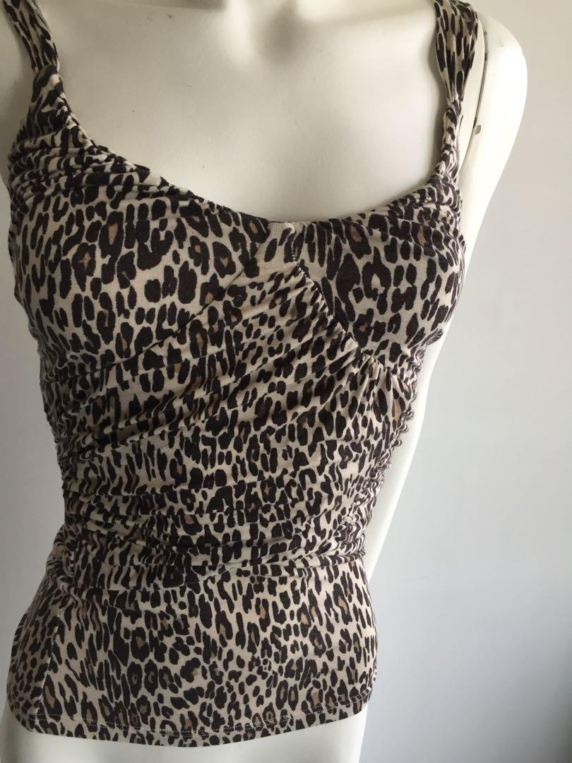 Leopard Cotton Tank