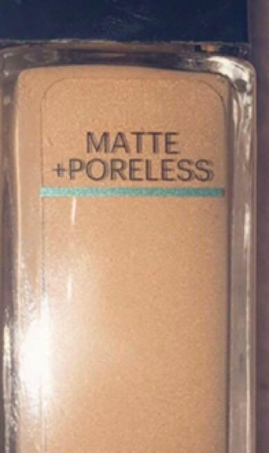 Maybelline mate and poreless foundation