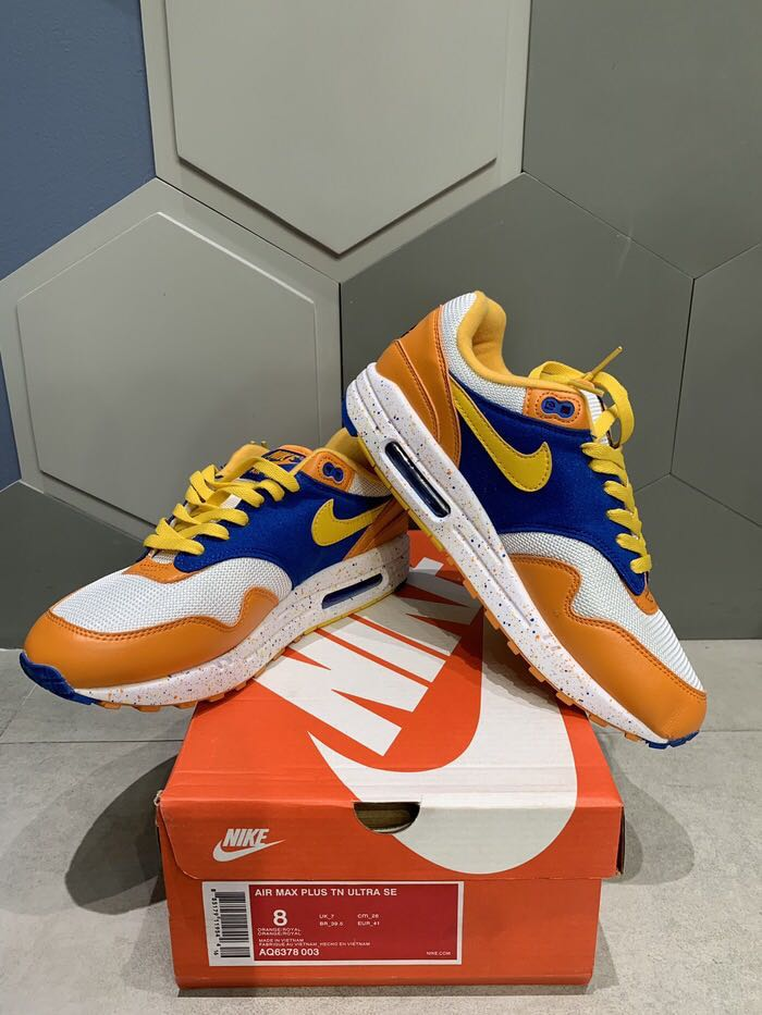 new arrival 760b5 fb613 Nike Air Max 1 Albert Heijn x Parra BNIB PERFECT PAIRS, Men s Fashion,  Men s Footwear, Sneakers on Carousell