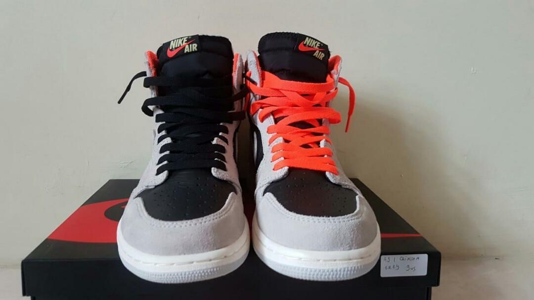 Nike jordan crimson grey OG