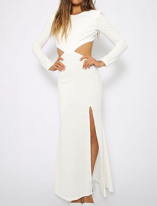 Peppermayo White Formal Dress