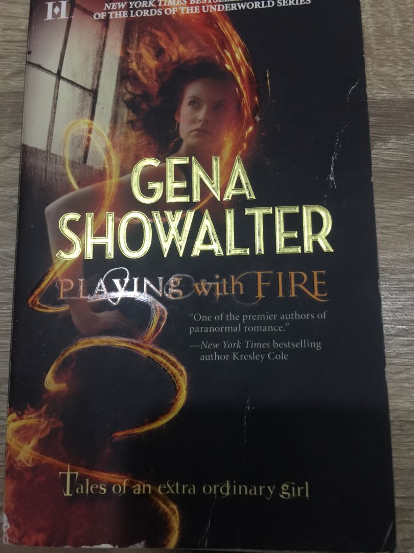 Playing with Fire/Twice as Hot by Gena Showalter on Carousell