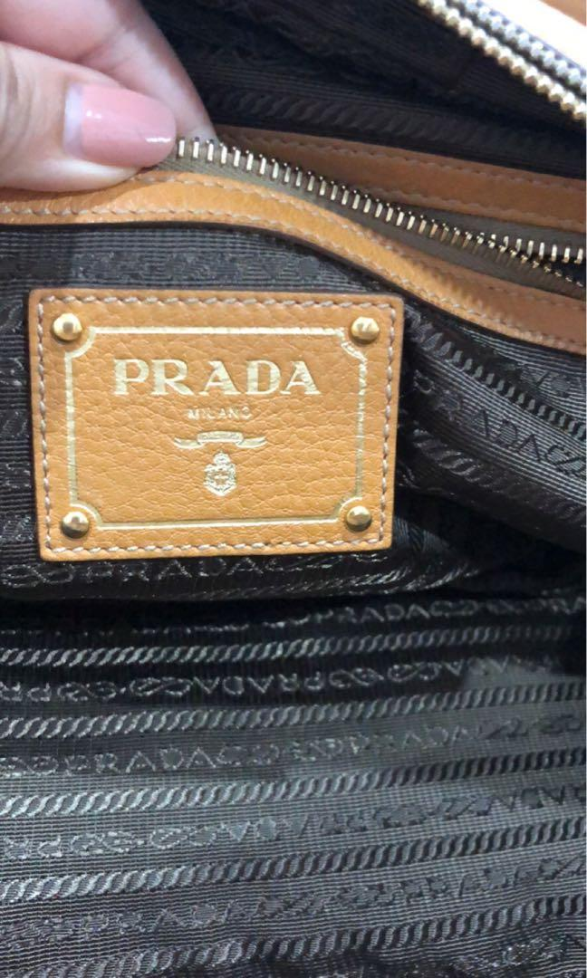 Prada Near New Shoulder Bag