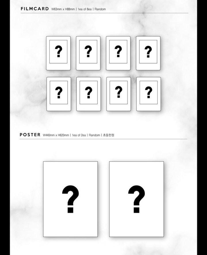 🇲🇾[PREORDER GO] PARK JIHOON 1st Mini Album 'O'Clock' With Poster