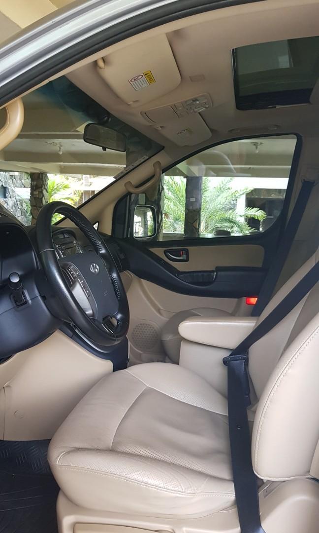 NEW! Premium Van Rental with Driver (Grand Starex) ☀️