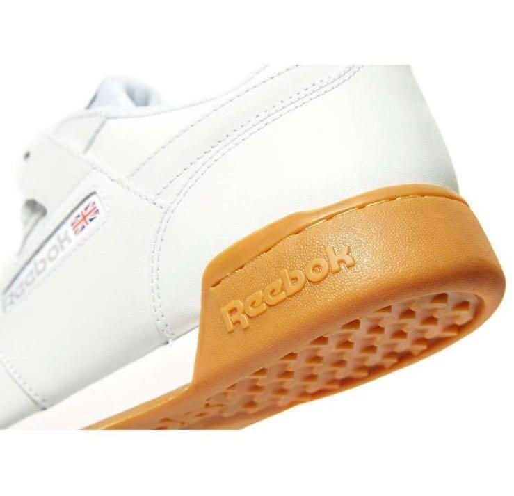 Reebok Workout Plus Mens White Shoes Sneakers Brand New in Box