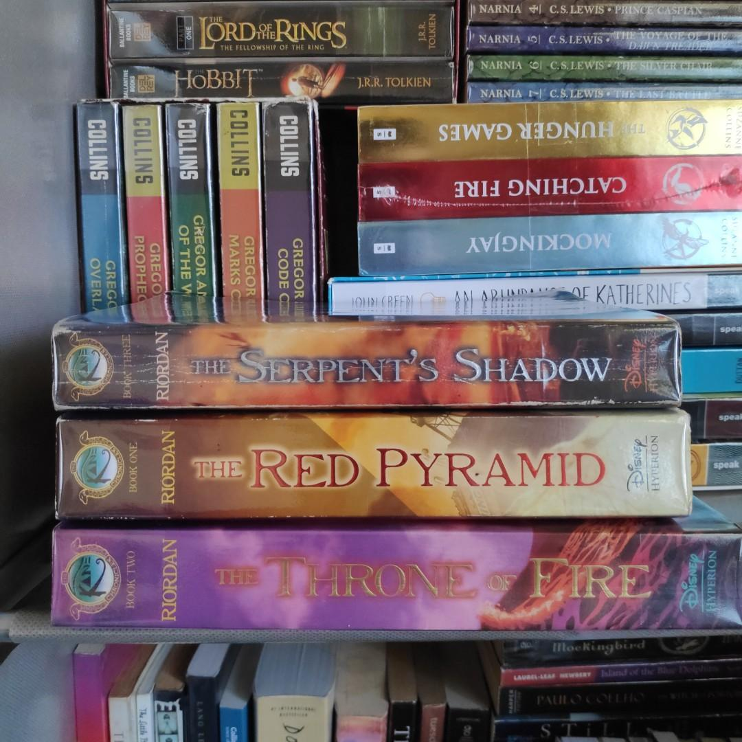 Rick Riordan Books for Sale (Percy Jackson, Heroes of Olympus, Kane Chronicles, & Magnus Chase)