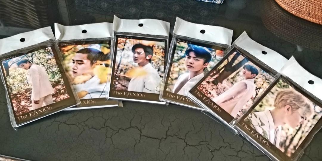 Set 8 Pcs Photocard Kpop EXO - CY BAEK SEHUN KAI DO