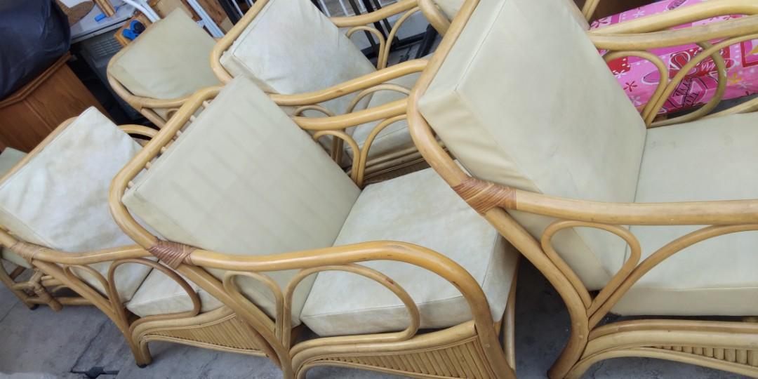 Sofa Rotan Home Furniture Furniture On Carousell
