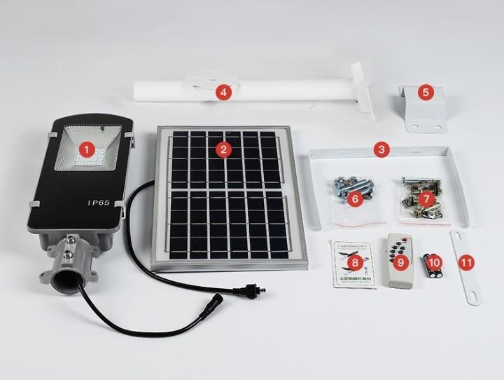 SOLAR STREET LIGHT IP65