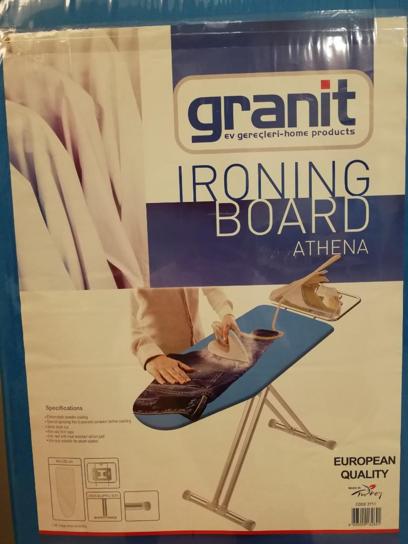 SUPER BIG Granit ironing board
