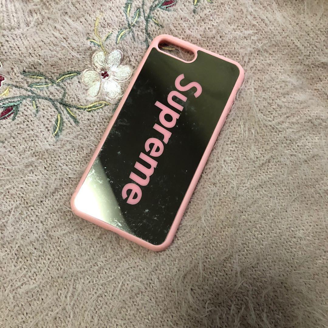 online retailer bdaef 06c01 Supreme Mirror Case for iPhone 7/8 plus