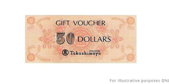 Takashimaya voucher
