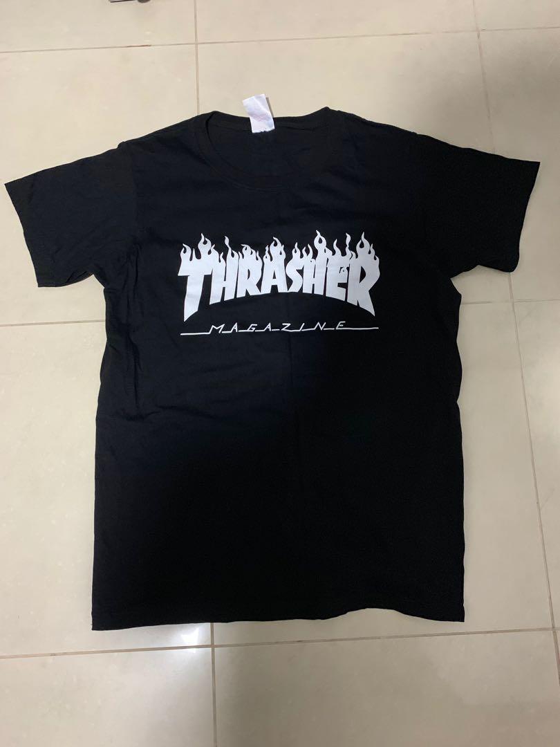 6e3e57e45a5 Thrasher tee, Men's Fashion, Clothes, Tops on Carousell