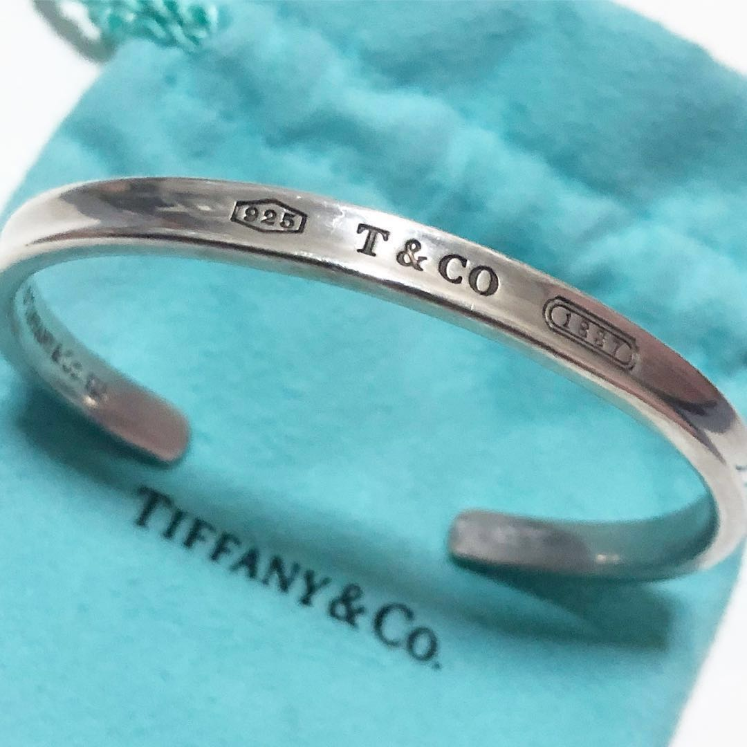 768aaa3fc Tiffany 1837 Cuff Bracelet, Luxury, Accessories, Others on Carousell